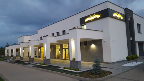 Budynek krematorium Białystok