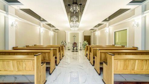 Kaplica pogrzebowa z krematorium w Białymstoku
