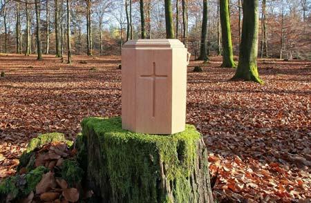 Urna pochodząca z krematorium Białystok